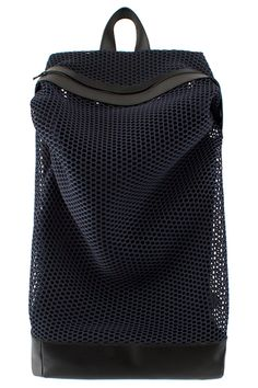 VFILES | CHRISTOPHER RAEBURN MESH ZIP-TOP RUCKSACK