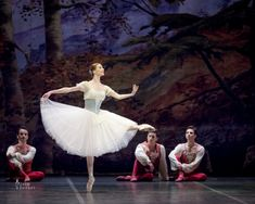 Svetlana Zakharova and Sergei Polunin in Giselle 1st act