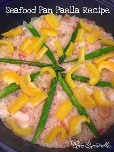 Seafood Pan Paella Recipe   Aries Quaintrelles