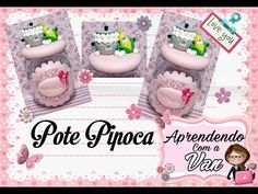 (DIY) PASSO A PASSO POTINHO GALINHA COM MOLDE MINI PETS P - YouTube Pasta Flexible, Biscuits, Polymer Clay, Youtube, Decorating Jars, Decorated Jars, Creative Crafts, Mason Jars, Vases