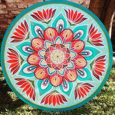 Cuadros De Mandalas Artesanales Pintados A Mano, Unicos - $ 600,00