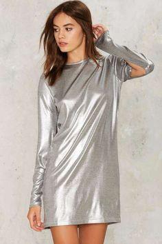 Cheap Monday Sound Metallic Dress