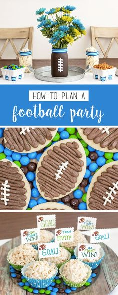You name it, this collection of ideas on how to plan a football-themed party will have it! You'll find easy DIY vases, touchdown-worthy homemade desserts, and even sweet and salty snack ideas using M&M'S® Game Day Mix—perfect for cheering on your favorite team this fall! Plus, find everything you need to makes these at CVS.