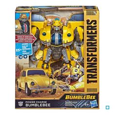 online store 9ce3c 3e5cc Transformers mv6 power charge bumblebee
