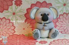 Koala Bear #cake #topper, Sugar High