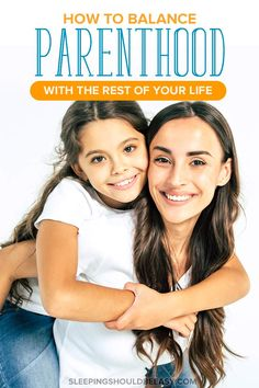 Parenthood can take over our lives, spending every minute taking care of our kids. It's easy to overlook our hobbies, friends and even our spouse. Here's how to balance parenthood with other parts of your life. #parenthood