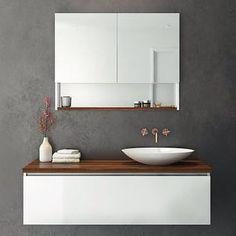 Above counter sinks❤️ Wall Hung Vanity, Wall Hung Toilet, Bathroom Renos, Modern Bathroom Vanities, Wooden Bathroom Vanity, Bathroom Basin, Ensuite Bathrooms, Bathroom Inspo, Bathroom Wall
