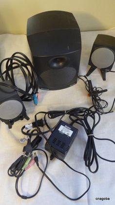Vintage Boston Acoustics BA745 Computer Speakers #BostonAcoustics