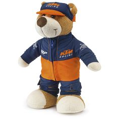 Dirt Bike KTM OEM Parts Teddy | MotoSport Ktm Parts, Motosport, Kids Gifts, Motocross, Oem, Teddy Bear, Bike, Animals, Fictional Characters