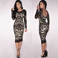 Item specifics     Condition:        New without tags: A brand-new, unused, and unworn item (including handmade items) that is not in original packaging or   ... - #Women'sDresses https://lastreviews.net/fashion/womens/womens-dresses/us-women-sexy-bodycon-bandage-evening-cocktail-party-long-sleeve-pencil-dress/