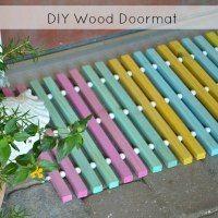 Just added my InLinkz link here: http://h2obungalow.com/2015/05/diy-wood-doormat.html