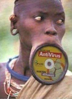 but then we found .. Antivirus