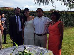 Nuestros testigos de boda
