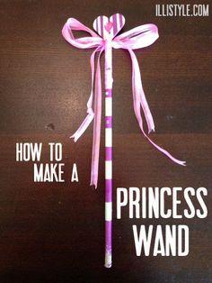 how to make a princess wand - illistyle.com