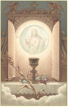 """""""How happy are the pure souls that have the happiness of being united to Our Lord by Communion! They will shine like beautiful diamonds in Heaven, because God will be seen in them."""" - St. John Vianney"""