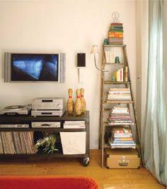 Ter uma visão diferente sobre os objetos e assim conseguir enxergar novas possibilidades para eles é ser alternativo e diferenciar seu espaço com personali