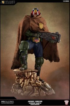 Pop Culture Shock | 2000AD | Judge Dredd 1/3rd Scale Statue