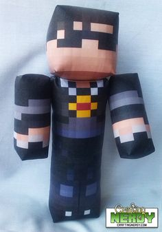 Plush Minecraft inspired  SkyDoesMinecraft Toy!