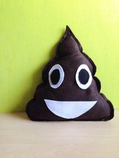 Emoji Poop Pillow 5 Plush Assorted 12 Pack