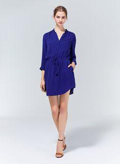 T. BABATON BENNETT DRESS - An elegant, feminine shirtdress in luxe silk georgette