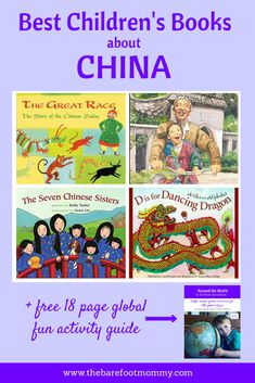 Introduce children to Chinese culture with these engaging picture books and kids' activities. Click through for the full list of folktales, modern stories, and history books about China, plus fun crafts to try at home or in the classroom. #globalkids #china
