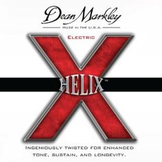 Dean Markley 2512 Helix Hd Electric by Dean Markley. $6.25. Gauges: .09, .011, .016, .026, .036, .046.Made of nickel-plated steel, Dean Markley HELIX HD electric guitar CL strings are custom light strings that will give your guitar a sound like no other. It took over a year of many trials for the Dean Markley team to find just the precise elliptical shape for the winding wire that make up the patent-pending, Hyper-Elliptical Winding process of the Helix HD. This sha...