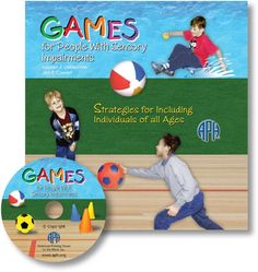 GAMES for People with Sensory Impairments: Strategies for Including Individuals of All Ages  Sports and games for people who are blind and visually impaired!
