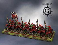 Warhammer FB | Orcs & Goblins | Goblin Spider Riders  #warhammer…