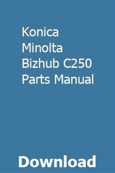 8 Best Konica Bizhub parts images in 2017 | Drum, Drums