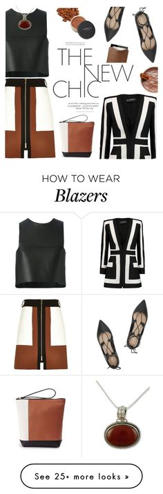 """""""Untitled #751"""" by intellectual-blackness on Polyvore featuring River Island, Loeffler Randall, Fendi, Mulberry, NOVICA, Marni, Balmain, Bare Escentuals and anklewrapflats"""