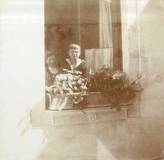 Grand Duchess Maria with brother,Tsarevich Alexei