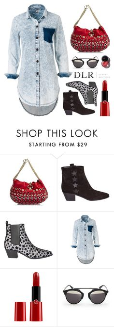 """""""DLRBOUTIQUE.COM"""" by mirachu-1 ❤ liked on Polyvore featuring Sonia Rykiel, Yves Saint Laurent, Giorgio Armani, Christian Dior and dlrboutique"""