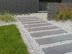Concrete pavers in stones
