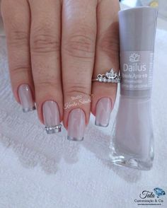 best ideas for nails french pedicure pink Love Nails, Pink Nails, Pretty Nails, My Nails, French Pedicure, French Nails, Cookies Et Biscuits, Nail Trends, Nail Arts