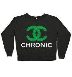 CoCo Chronic Raglan - Some Girls Get High #fashion #weed #marijuana
