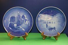 Bing & Grondahl Christmas 1971 and 1972 B&G plate set #babescollectibles