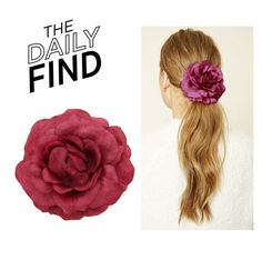 """""""The Daily Find: Forever 21 Hair Clip"""" by polyvore-editorial ❤ liked on Polyvore featuring Forever 21 and DailyFind"""