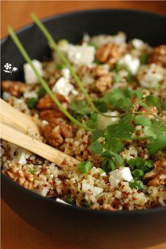 Salade boulgour, quinoa, feta, noix_4