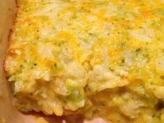 Cauliflower & Broccoli Au Gratin! S Dish! Gluten Free and Low Carb this is a GREAT side dish that will compliment any meal!