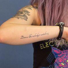 19 Meaningful Wrist Tattoos With Words – Wrist Designs Rib Tattoos Words, Wörter Tattoos, Forearm Tattoo Quotes, Quote Tattoos Girls, Small Forearm Tattoos, Music Tattoos, Small Tattoos, Tattoos For Guys, Faith Tattoos