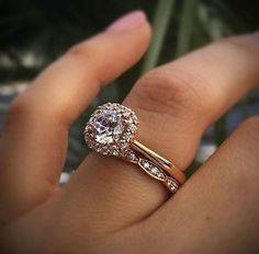 Are you team solitaire engagement ring or team halo engagement ring?