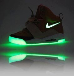 Fluorescent soles...who wouldn't want a pair???