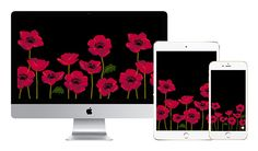 bring fresh poppies wherever you go [[MORE]]download the print: download. download. download.