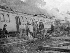 Train Wreck, Rhinecliff, New York :: Consortium of Rhinebeck History
