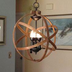 51 ideas rustic lighting fixtures dining room chandeliers orb chandelier for 2019 Bedroom Light Fixtures, Industrial Light Fixtures, Modern Light Fixtures, Bedroom Lighting, Interior Lighting, Industrial Pendant Lights, Metal Chandelier, Chandelier Lighting, Chandelier Ideas