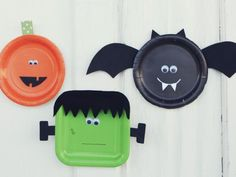 Cool project from www.kiwicrate.com/thestudio: Paper Plate Halloween Crafts