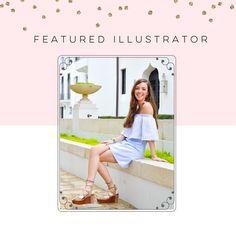Illustration Boutique Featured Illustrator | Caroline Bramlett