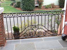 Philadelphia PA custom wrought iron railings Raleigh Wrought Iron Co.