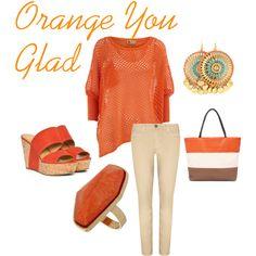 Orange You Glad, created by natalie-buscemi-hindman