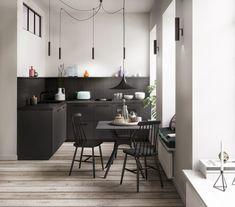 Un appartement contemporain à la lumière changeante